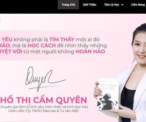 Thiết kế website thương hiệu cá nhân