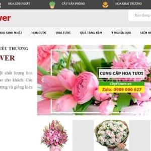 website ban hoa tuoi