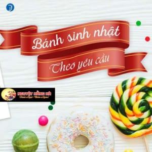 thiết kế website bánh ngọt đẹp nhất Sài Gòn